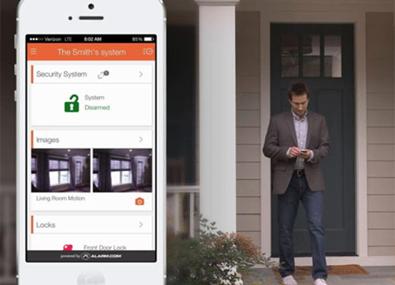 Rely on Thompson for Your Interactive Home Security System